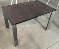Стол М-City CORNER 120 Glazed Glass Gopper+Grey1