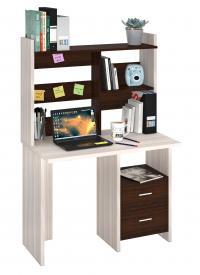 Компьютерный стол Мэрдэс СКЛ-Прям100+НКЛ-100