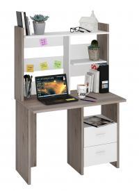 Компьютерный стол Мэрдэс СКЛ-Прям100+НКЛ-100 со скругленными углами