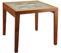 Стол обеденный Боровичи раздвижной со стеклом