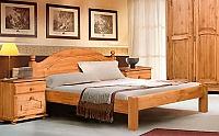 Кровать Бобруйскмебель Лотос с заглушкой  без ножной спинки (160), Б-1090-21