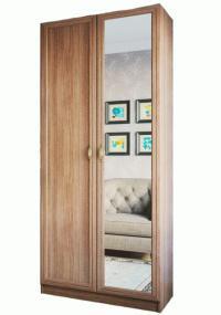 Шкаф двухстворчатый SV-мебель Вега ВМ-05 с зеркалом