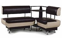 Кухонный уголок Бител Валенсия диван МД 600 + МД 700 + ПУ 500