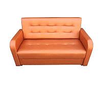 Диван Аккорд 120х190 оранжевый