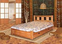 Кровать Альянс XXI век Галлея 2 с ящиками