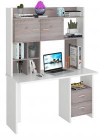 Компьютерный стол Мэрдэс СКЛ-Прям130+ НКЛХ130