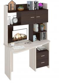 Компьютерный стол Мэрдэс СКЛ-Трап120+НКЛХ120