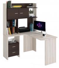 Компьютерный стол Мэрдэс СКЛ-Угл130+НКЛХ120