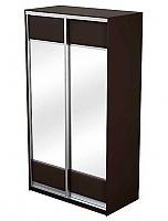 Шкаф-купе 2х дверный Como/Veda МДФ с 2 зеркалами
