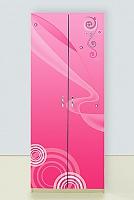 Шкаф 2х дверный Принцесса