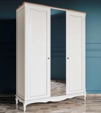 Шкаф Этaжepкa Leontina для одежды 3х створчатый, арт.ST9327Z