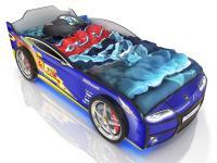 Кровать-машинка Romack Kiddy Синяя молния