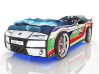 Кровать-машинка Romack Kiddy Ралли спорт