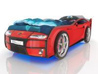Кровать-машинка Romack Kiddy Красная