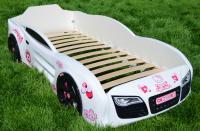 Кровать-машинка Romack Renner 2 Белая