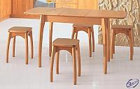 Стол обеденный раздвижной Элегия (нога бочонок Н)
