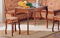 Стол обеденный с фигурной ножкой Элегия