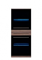 Шкаф настенный BRW Like 2W1S/14/6 (подсветка)