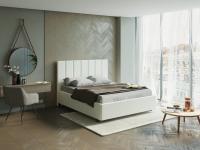 Кровать Oktava (ткань savana)