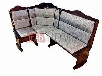 Угловой диван Себастьян Шале с баром (1100 мм) левый