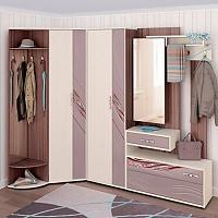 Набор мебели для прихожей Витра Лаура, комплектация 1