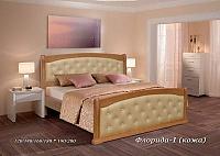 Кровать Альянс XXI век Флорида 1 кожа