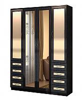Шкаф для белья Гарун 112 с двумя зеркалами