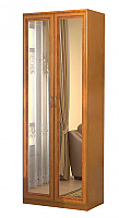 Шкаф для белья Гарун 101 с 2-мя зеркалами