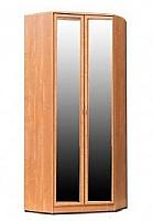Шкаф угловой 401 с 2-мя зеркалами