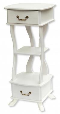 Подставка Мебелик Берже 14, белый ясень