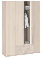 Шкаф 4-х дверный без зеркала Боровичи Лотос АРТ-8.04