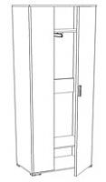 Шкаф для одежды ГРОС Марго, ПММ-4