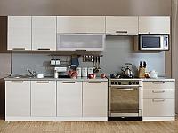 Кухонный гарнитур Трапеза Престиж 2800 (II категория) со шкафом под микроволновую печь