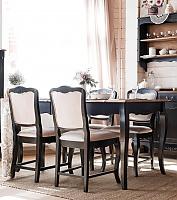 Стол обеденный малый Belveder Saphir Noir, ST9137MN