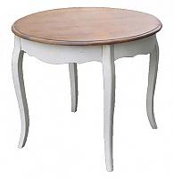 Стол обеденный круглый (малый) Belveder Blanc bonbon, ST9352S