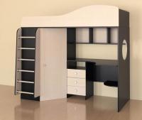 Кровать-чердак Ярофф Кадет 1 (металлическая лестница)