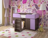 Кровать-чердак Малыш 4