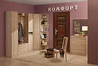 Набор мебели для прихожей Глазов Комфорт 2 (дуб сонома)