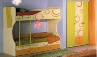 Кровать Любимый дом Фруттис двухъярусная (80), ЛД 503.030