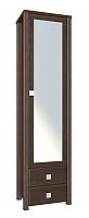 Шкаф-пенал Компасс Изабель с зеркалом, ИЗ-17