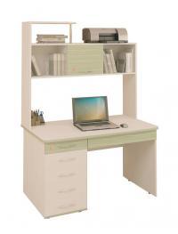 Компьютерный стол Витра Акварель-53.14 + Надстройка 53.18