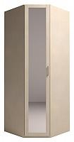 Шкаф Ижмебель Скандинавия Люкс угловой с зеркалом, мод.5