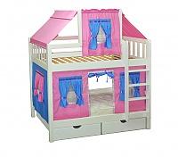 Купить кровать Мебель Холдинг Скворушка двухъярусная
