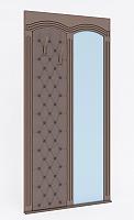 Вешалка Кентавр 2000 Гранд (белый) с зеркалом №11