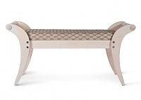 Банкетка Мебелик Тифани белый ясень