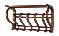 Вешалка настенная В 5Н (Роландо) средне-коричневый