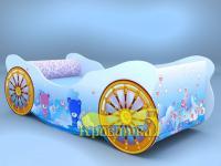 Кроватка-карета Мишки