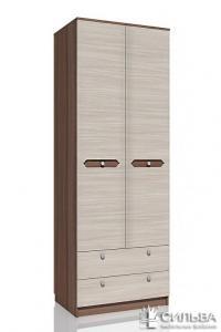Шкаф для одежды с ящиками Сильва Рива НМ 013.02-03