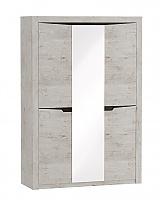 Шкаф МебельГрад Соренто 3х дверный Дуб бонифаций