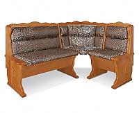Угловой диван Шале Шерлок с обивкой (1100 мм) правый (белый, слоновая кость)